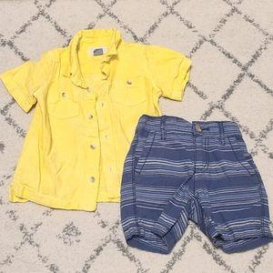 Baby Boys Summer Matching Set